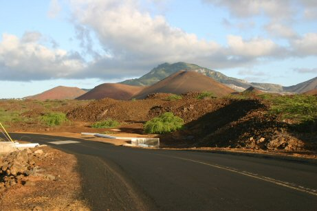 Green Mountain, Ascension Island